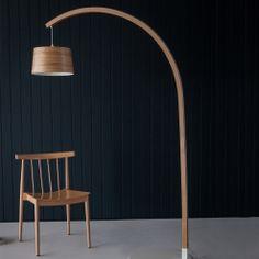 Stem Floor Light | Tom Raffield