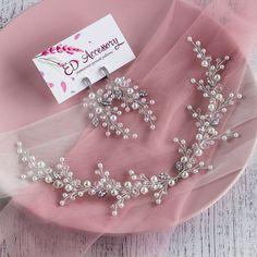Wedding Hair Pieces, Wedding Jewelry Sets, Wedding Hair Accessories, Wedding Dress, Bridal Headpieces, Headpiece Wedding, Wedding Earrings, Hair Jewelry, Pearl Jewelry