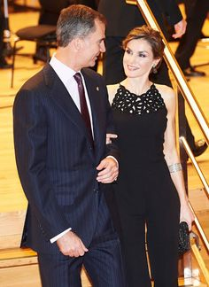 King Felipe and Queen Letizia attend Princess of Asturias Awards 22-10-2015
