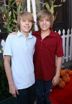 Cole and Dylan Sprouse . . . starred on The Suite Life of Zack and Cody