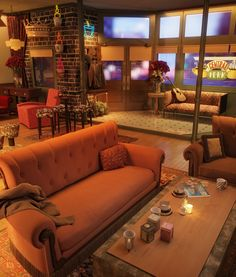 Central Perk - Uma homenagem da OC3 Design aos 20 anos do seriado Friends!