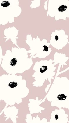 Pale poppy wallpaper