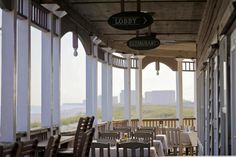 This is our idea of a dinner and a view!   Henderson Park Inn in Destin, Florida   Southern Living Handpicked Hotels