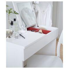 BRIMNES makyaj masası, beyaz, 70x42 cm | IKEA