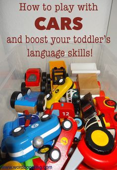 If your toddler is a car-lover, you're in luck! Playing with toy cars is super-motivating for lots of toddlers, and opens up amazing possibilities for language building from the very beginning of l…