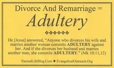 Bible study adultery
