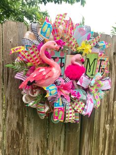 Your place to buy and sell all things handmade - Front Door Decor, Wreaths For Front Door, Door Wreaths, Yarn Wreaths, Tulle Wreath, Diy Wreath, Burlap Wreaths, Wreath Ideas, Summer Wreath