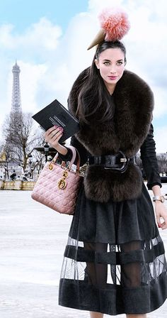 I have dressed up and taken off to Paris in search of the perfect croissant.  Tuesday's Top Ten.