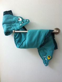 Flotsam & Jetsam Fleece Scarf Wrap. $40.00, via Etsy.