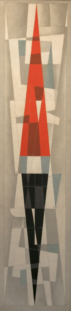 "AMA collection #92: ""Mural"" (1961) by Carlos Merida (Guatemala)"