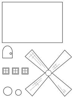 Windmill for Netherlands Unit Study Wind Mill Craft, Preschool Crafts, Crafts For Kids, Fall Preschool, Gingerbread House Patterns, Little Passports, World Crafts, Sand Crafts, World Geography