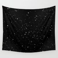Wall Tapestries featuring Stars by Jorge Lopez