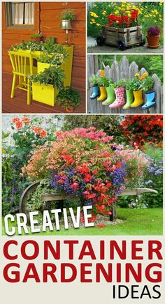 http://sunlitspaces.com/2013/10/08/unique-ways-to-use-potted-plants/