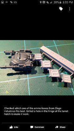Warhammer 40k Imperial Guard Taurus by Dan Bas Conversion