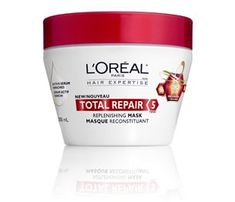My favourite hair product!  If you're growing out your hair, pick up this replenishing hair mask.