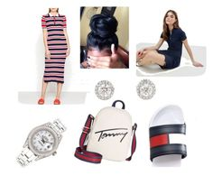 """Tommy Girl"" by nishanicole96 on Polyvore featuring Tommy Hilfiger and Rolex"