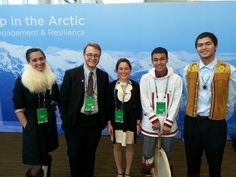 #NativeYouth joined last week's #GLACIER Conference in #Alaska, focused on climate action and preserving the Arctic.