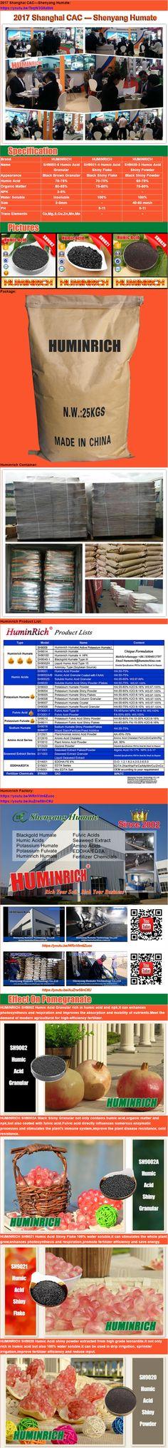 HuminRich SH9020 Water Soluble Humic Acid Powder
