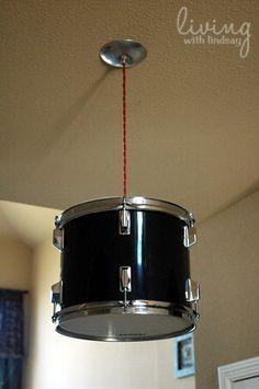 Drum Light—MUST MAKE THIS!