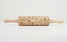 Embossed Rolling Pin Floral Pattern