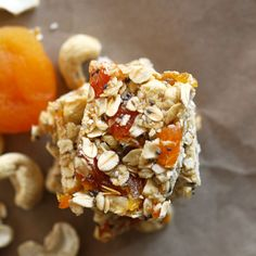 Why buy store-bought muesli bars when you can make your own delicious and healthy no bake chewy apricot muesli bars in just 10 minutes!
