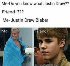 Shut up pls! Justin Beiber Girlfriend, Justin Bieber Quotes, Justin Bieber Images, Justin Bieber Facts, Justin Love, I Love Justin Bieber, Bae, Funny Jokes, Hilarious