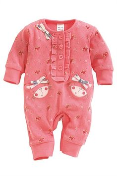 Newborn Clothing - Baby Clothes and Infantwear - Next Print Cat Romper - EziBuy Australia