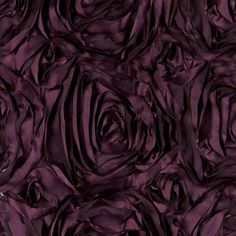 Roses Eggplant Table Linen