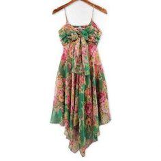 #AdoreWe #DressLily Dresslily Colorful Tiny Floral Print (Without the Tie) Dress - AdoreWe.com