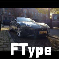 Jaguar F-Typeeeeee!!! Mooiste auto die er is!