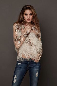 East Coast Style: Olivia Palermo x Estilo Olivia Palermo, Olivia Palermo Lookbook, Olivia Palermo Style, Look Fashion, Fashion Beauty, Womens Fashion, Fashion Trends, Editorial Fashion, Glamour