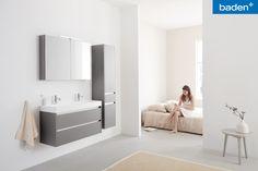Nieuw! De Beat 2.0 is verkrijgbaar met een diepte van 45 of 40 cm: ideaal voor de kleinere badkamer.