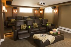 Timeless Revival - traditional - media room - other metro - Shane D. Inman