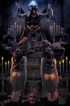 Posh Satanic Ritual by americanvendetta.deviantart.com on @deviantART