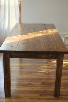 Our New DIY Dining Room Table