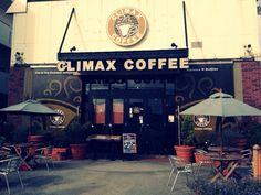 Climax Coffee in Oki.  Yes, they name things this way.  But don't be scared.....