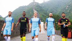 Camisas do Manchester City 2016-2017 Nike