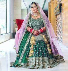 Looking for Bridal Lehenga for your wedding ? Dulhaniyaa curated the list of Best Bridal Wear Store with variety of Bridal Lehenga with their prices Bridal Looks, Bridal Style, Bride And Son, Wedding Dance Video, Mehendi Outfits, Green Lehenga, Indian Wedding Planning, Curvy Bride, Indian Bridal Fashion