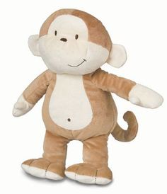 Hold on to his tail or grab his hand and take this monkey everywhere a baby can go. Healthy Baby™ Asthma & Allergy Friendly Floppy Monkey is a great companion for your little one standing at 12 inches and colored soft brown and beige. Toys with the as Baby Toys, Kids Toys, Bear Toy, Baby Boy Gifts, Asthma, Plush Dolls, Baby Accessories, Allergies, Like4like