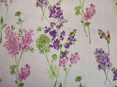 Curtain Fabric French Lavender Linen Light Upholstery by Metre for sale online Curtain Material, Curtain Fabric, Curtains, Pattern Texture, French Lavender, Fabric Design, Upholstery, Wall Art, Fabrics