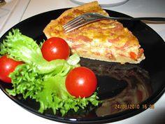 Kakkutaikuri: Kinkku-tuplajuusto -piirakka Pancakes, Eggs, Breakfast, Food, Morning Coffee, Essen, Pancake, Egg, Meals