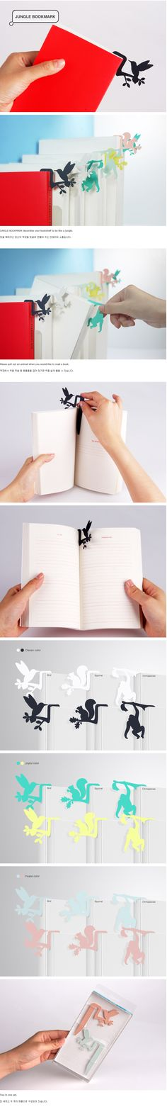 Jungle Bookmark by Connect Design