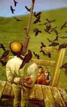 Michael Whelan - Dark Tower Hanged Man