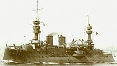 French battleship Jaureguiberry, commissioned in 1897. source