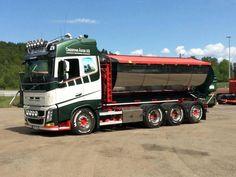 VOLVO Big Rig Trucks, Semi Trucks, Cool Trucks, Weird Cars, Crazy Cars, Truck Paint, Cab Over, Swedish Brands, Volvo Trucks