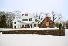 A Homespun Christmas in a Cozy Connecticut Farmhouse  - CountryLiving.com