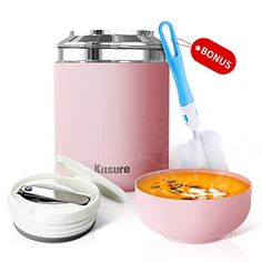 Lunch Thermos Food Jar for Hot Food Soup for Kids Lightweight 15 oz Thermos NEW