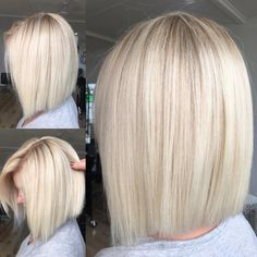 Clean Blonde ✨ - - - 💥To Book In at Hottes Hair ☎️ Call Bad Hair, Hair Day, Medium Hair Styles, Short Hair Styles, Hair Color And Cut, Great Hair, Hair Looks, Short Hair Cuts, Hair Trends