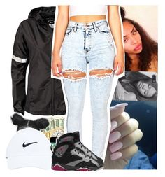 """""""goodnight"""" by lowkeytayy ❤ liked on Polyvore featuring NIKE and Retrò"""