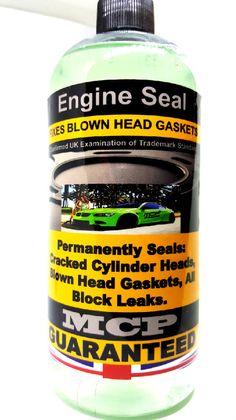 Steel-Seal-Head-Gasket-Sealer-MCP-Permanent-Head-Gasket-Repairs-Used 8 Cylinder #MCP